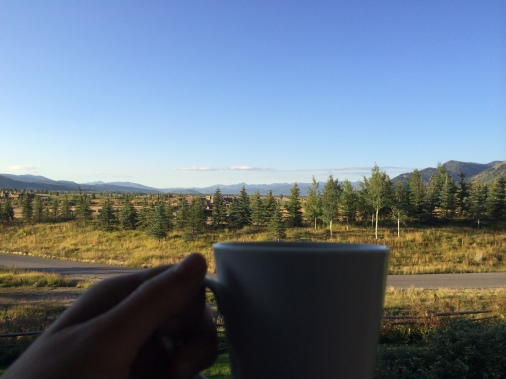 Morning Coffee View