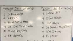 Monday Night - Strength + Cardio