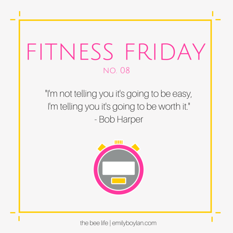 Fitness Friday 08 - the bee life