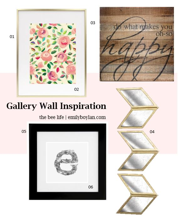Gallery Wall Inspiration - the bee life