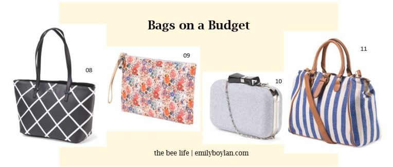 Bags on a Budget - the bee life