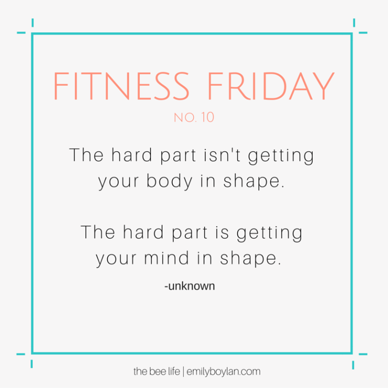 Fitness Friday 10 - the bee life