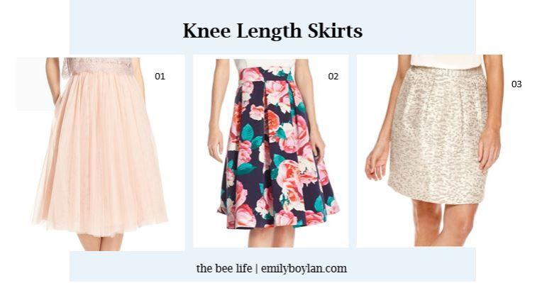 Knee Length Skirts - the bee life