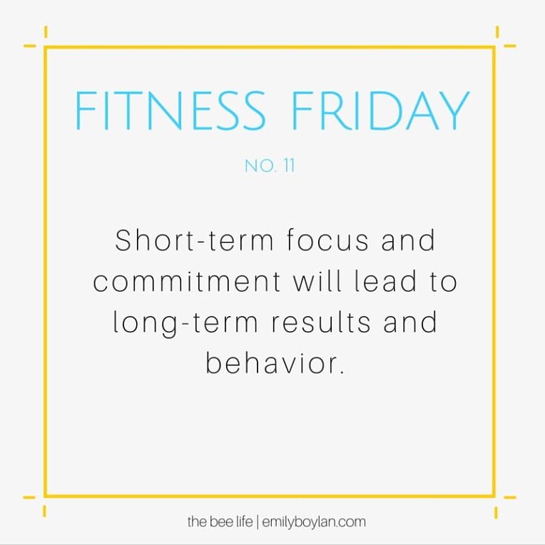 Fitness Friday 11 - the bee life
