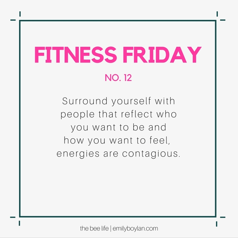Fitness Friday 12 - the bee life