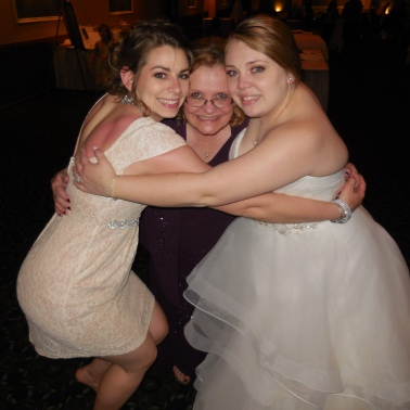 Katie and I with Lori, her mom