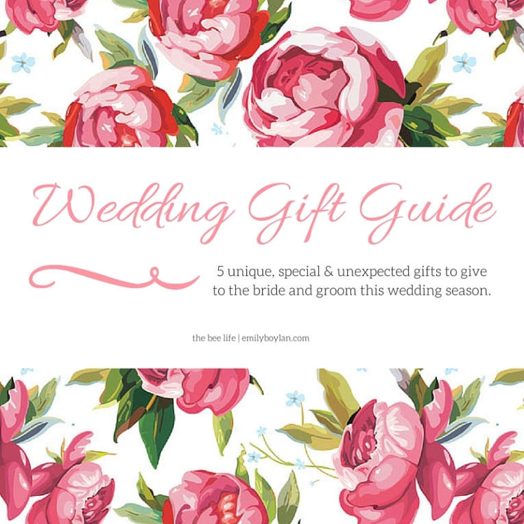 Wedding Gift Guide - the bee life