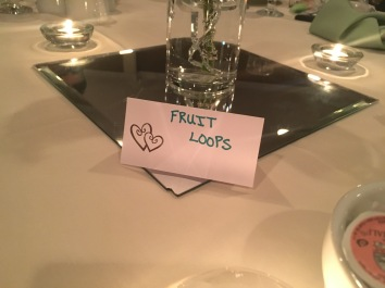 Our Table!