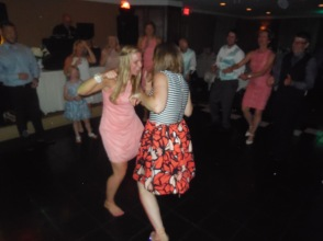 Jordan and I cutting a rug