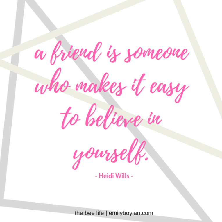 Wednesday Reminders - Friends - the bee life