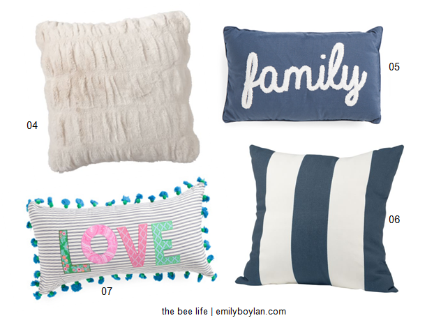 Latest Obsessions - Pillows - Blues