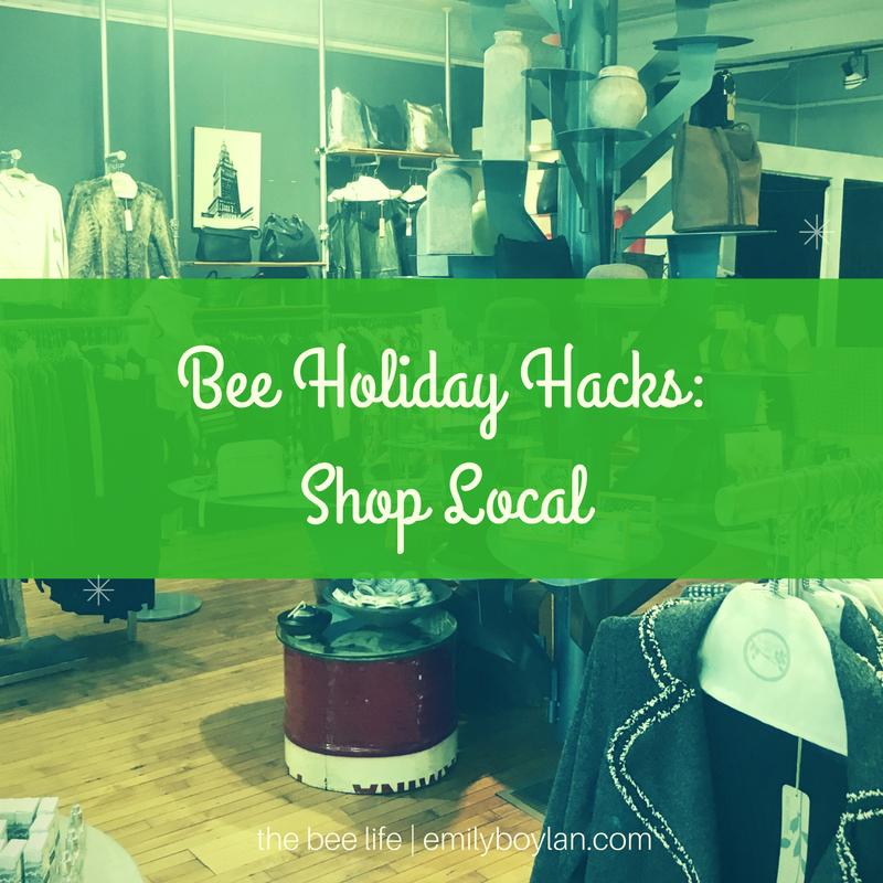 bee-holiday-hacks-shop-local-the-bee-life