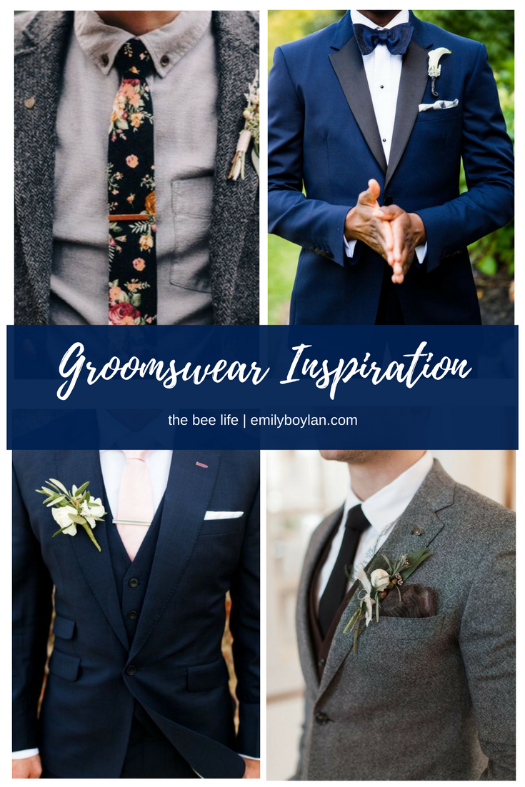 Groomswear Inspiration - the bee life