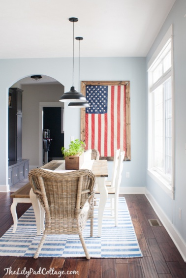 American Flag Decor(2) - the bee life