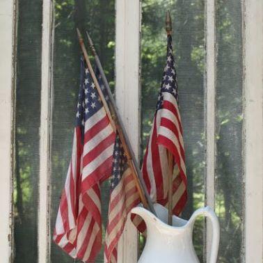 American Flag Decor(3) - the bee life