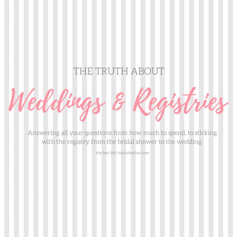 Weddings & Registries Guide - the bee life