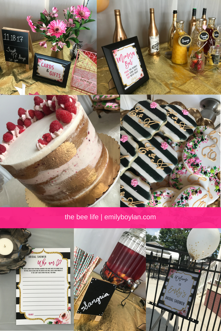 Bridal Shower P1 - the bee life (2)