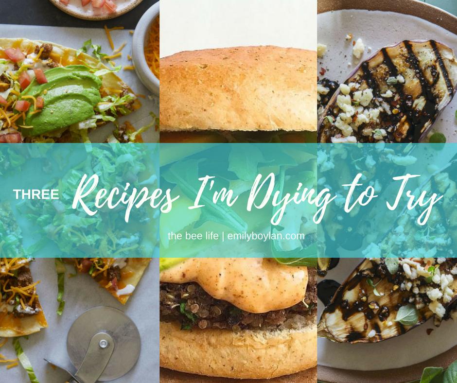 Three Recipes - the bee life