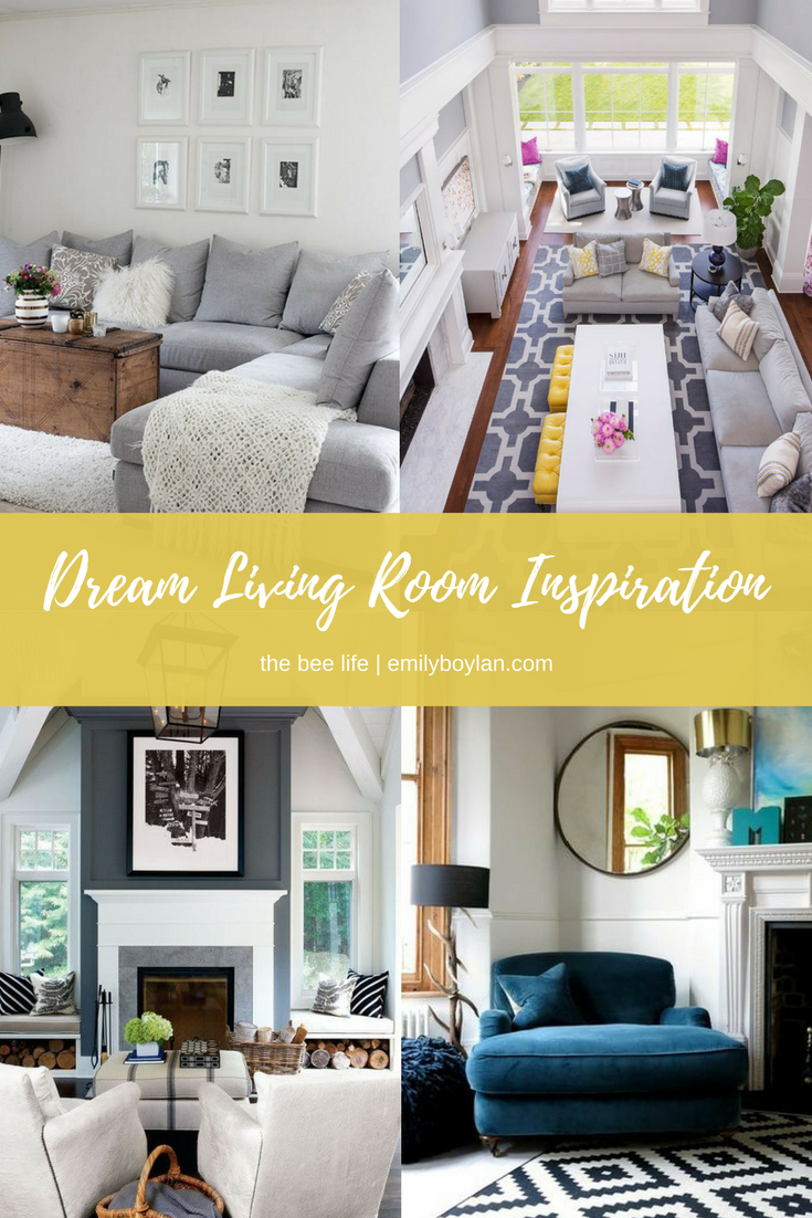 Living Room Inspiration - the bee life