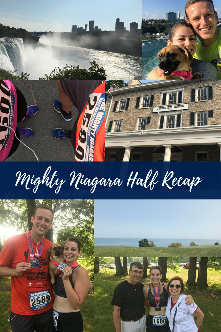 Mighty Niagara Half Recap - the bee life