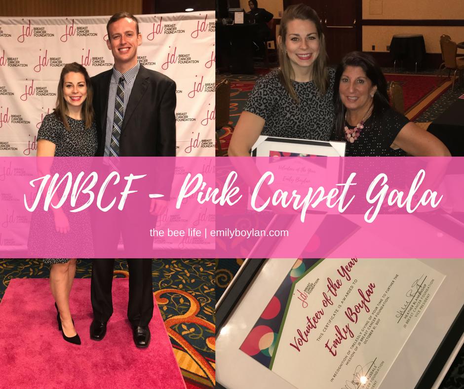JDBCF - Pink Carpet Gala - the bee life