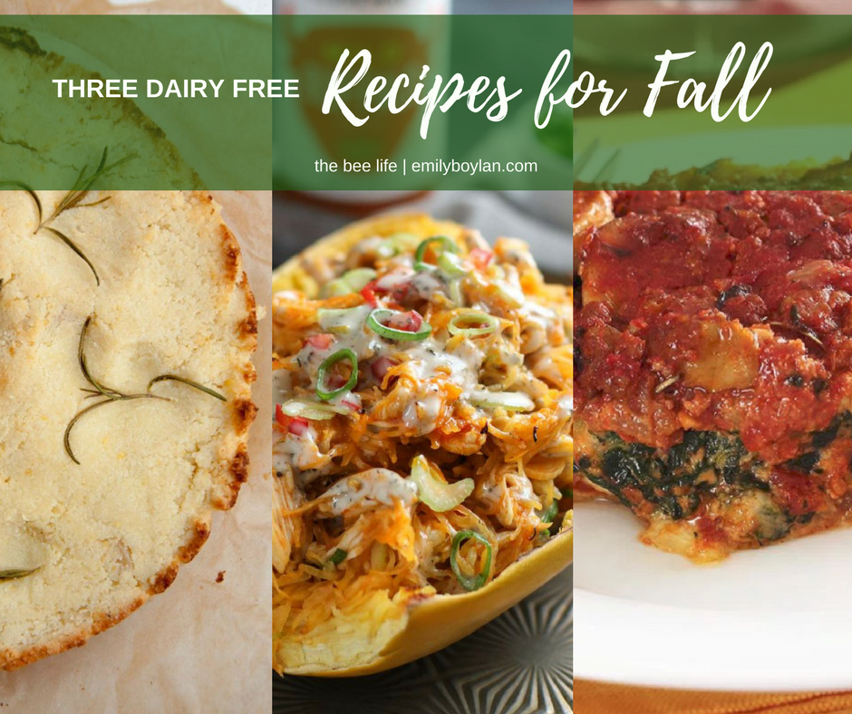 Dairy Free Fall Recipes - the bee life