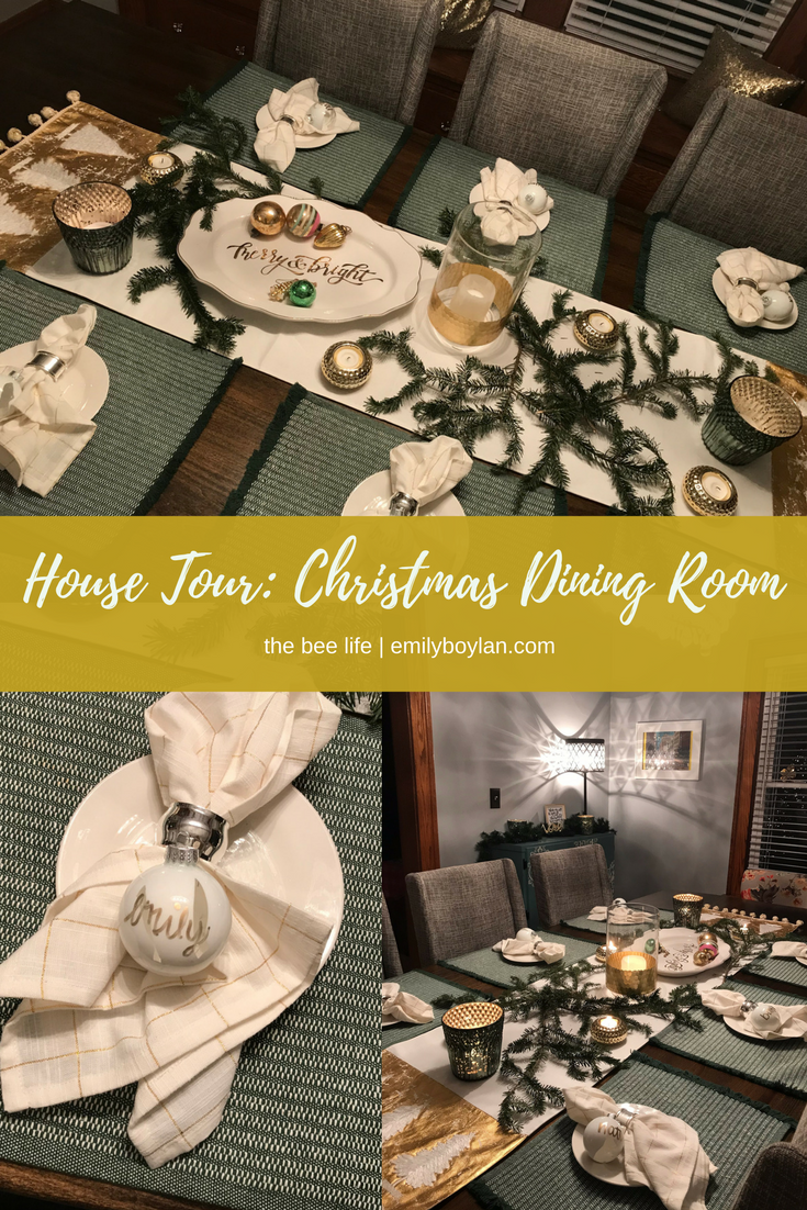 House Tour - Christmas Dining - the bee life (1)