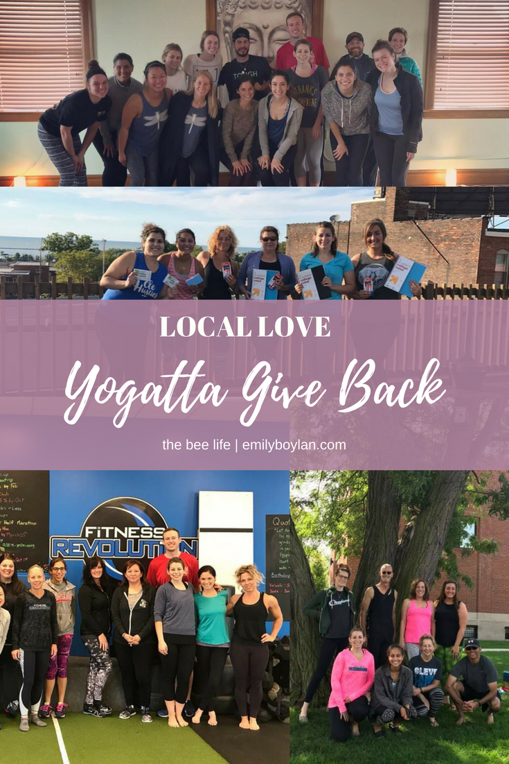 Local Love - Yogatta Give Back - the bee life
