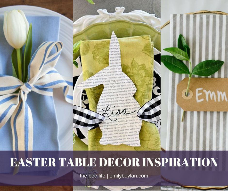 Easter Table Decor Inspo - the bee life