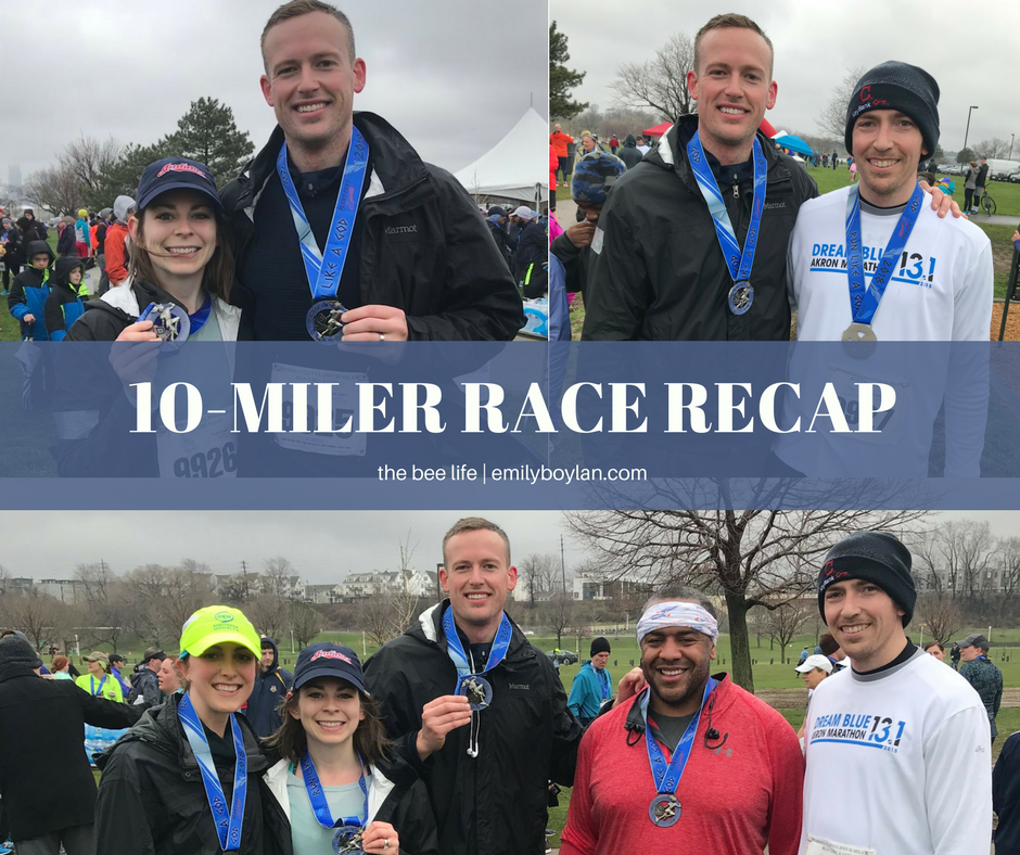 10-Miler Recap - 2018 - the bee life