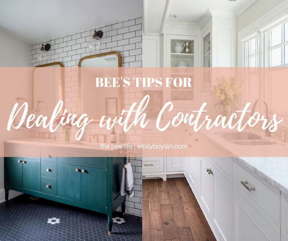 Contractor Tips - the bee life