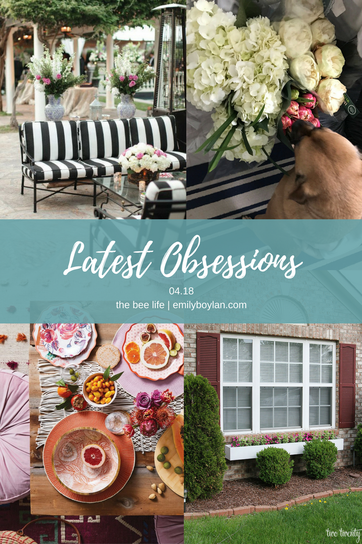 Latest Obsessions 04.18 - The Bee Life