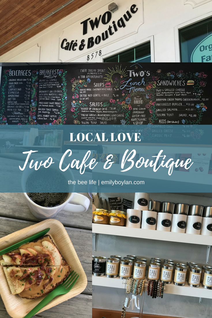 Local Love - Two Cafe & Boutique - the bee life