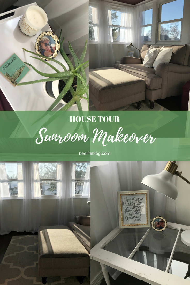 House Tour - Sunroom Makeover - the bee life