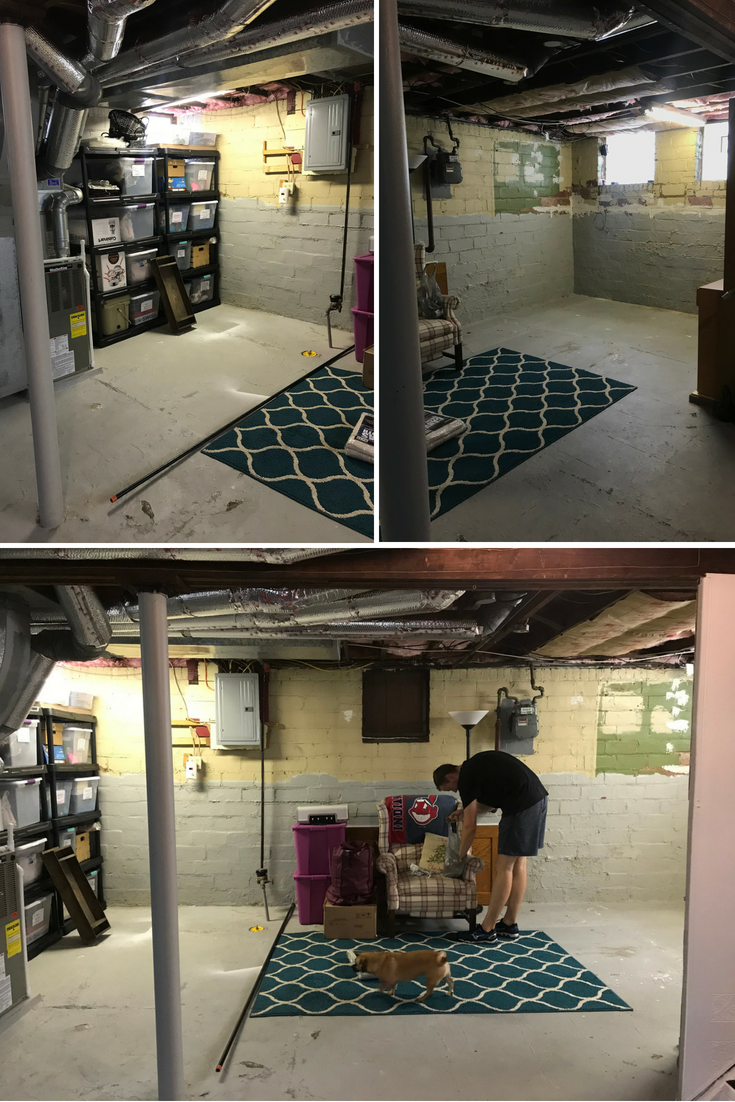 Basement Before (1) - the bee life