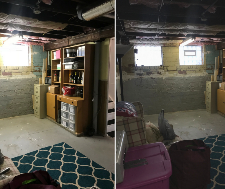 Basement Before (2) - the bee life