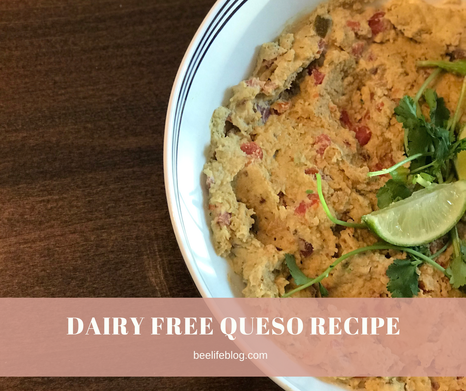 Dairy Free Queso - The Recipe - bee life blog