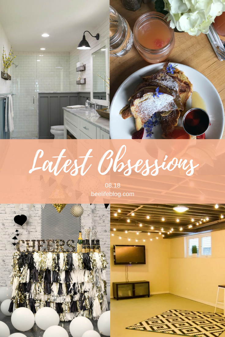 Latest Obsessions 08.18 - the bee life