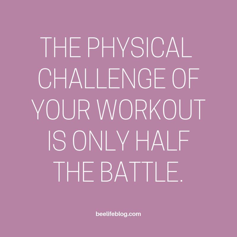 Fitness Friday 09.18 - the bee life
