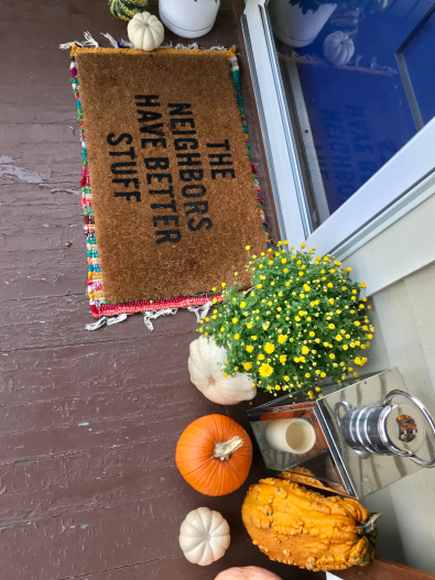 Fall Front Porch - bee life blog (1)
