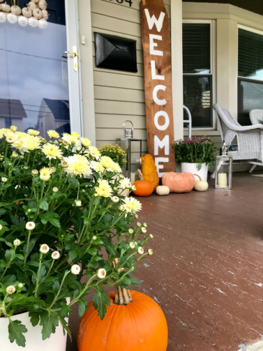 Fall Front Porch - bee life blog (4)
