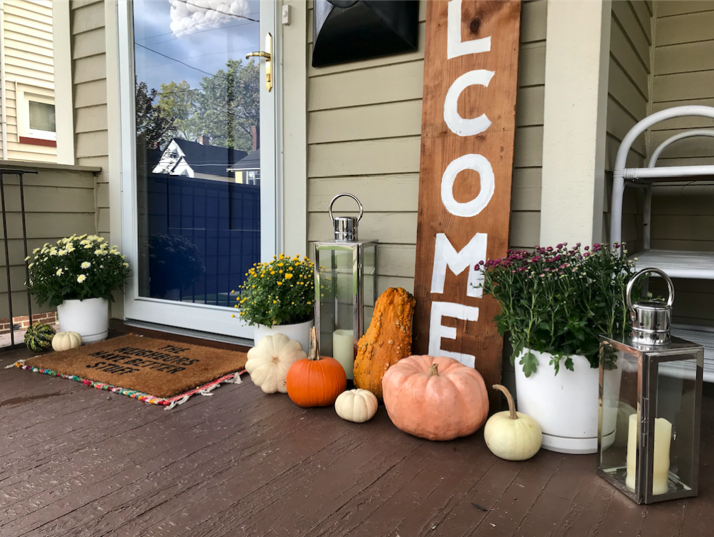 Fall Front Porch - bee life blog (6)