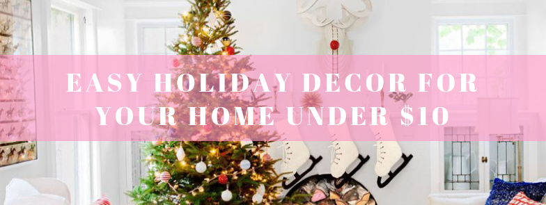 Easy Holiday Decor - the bee life