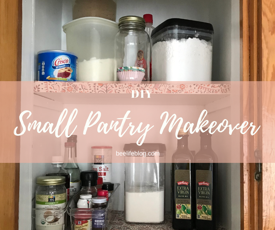 diy - small pantry makeover