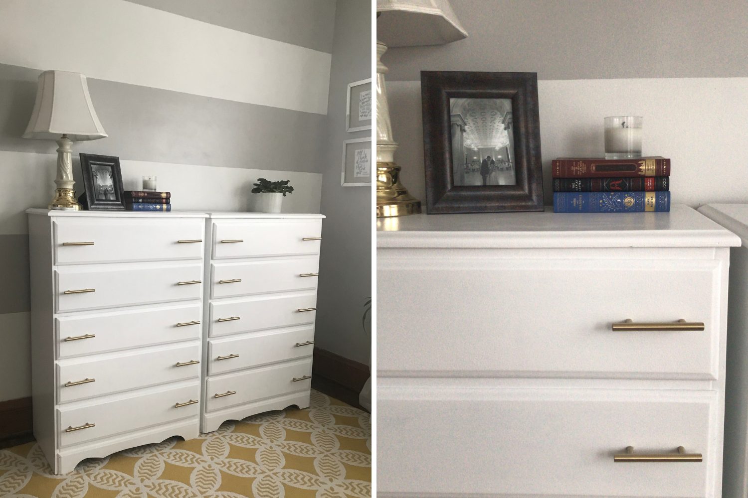 Dresser Makeover - the bee life (3)