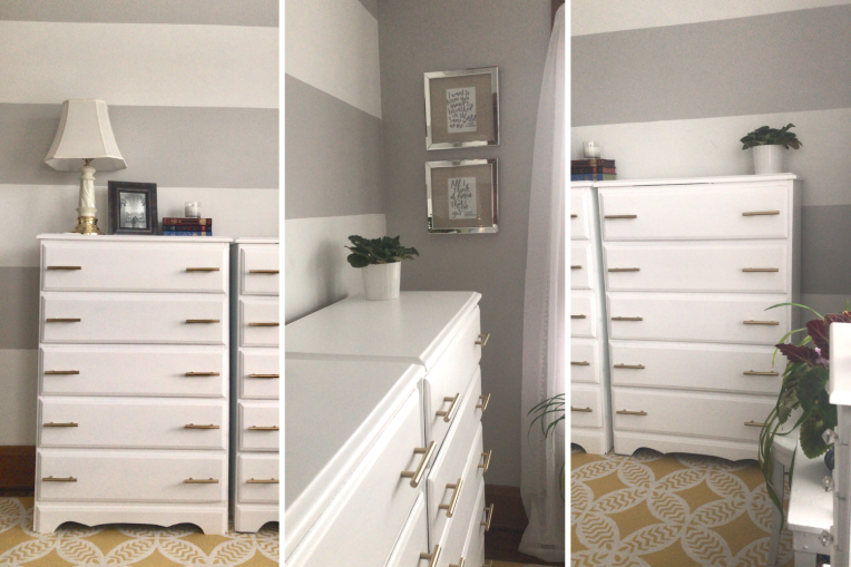 Dresser Makeover - the bee life (4)
