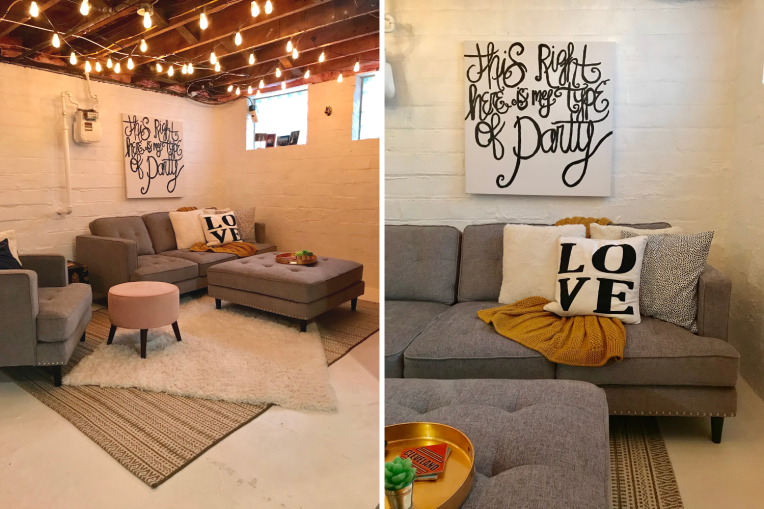 Basement Makeover - the bee life(1)