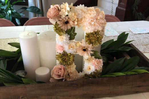 Floral Letter - beelifeblog (1)