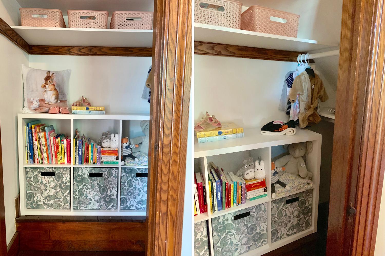 Nursery Closet Makeover - beelifeblog(5)